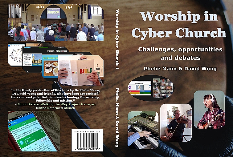 Worship in Cyber Church - cover